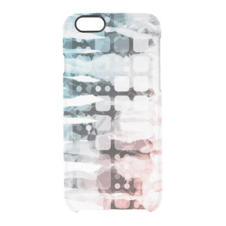 Empowered Professionals Working as a Team Concept Clear iPhone 6/6S Case