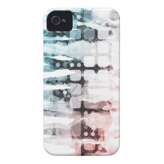 Empowered Professionals Working as a Team Concept iPhone 4 Cases