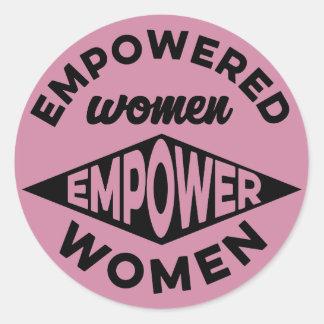 Empowered Women Empower Women Classic Round Sticker