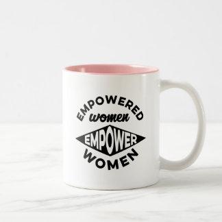 Empowered Women Empower Women Two-Tone Coffee Mug