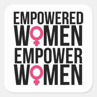 Empowered Women Stickers