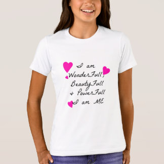 Empowering Girls 2 Love themselves ,inside out T-Shirt