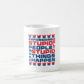 Empowering Stupidity Coffee Mug