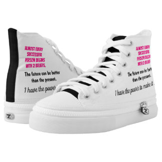 Empowering Thoughts High Tops