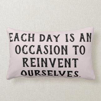 Empowering Thoughts Lumbar Pillow