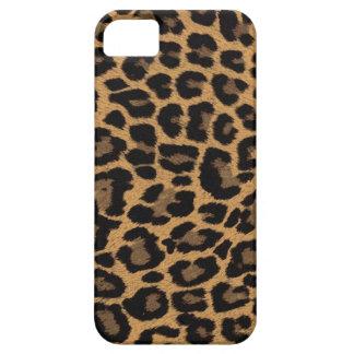 empreinte de léopard de faux étui iPhone 5