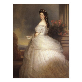 Empress Elisabeth - Sisi - Franz Xaver Winterhalte Postcard