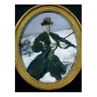 Empress Elizabeth  Hunting, 1902 Postcard