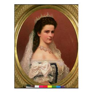 Empress Elizabeth of Bavaria  in Hungarian Postcard