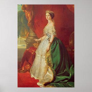 Empress Eugenie Poster