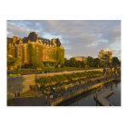 Empress Hotel and Inner Harbour waterfront, Postcard
