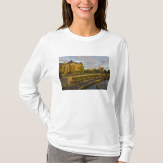 Empress Hotel and Inner Harbour waterfront, T-Shirt