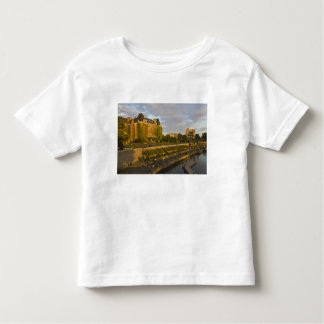 Empress Hotel and Inner Harbour waterfront, Toddler T-shirt