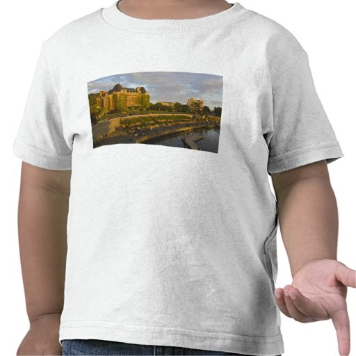 Empress Hotel and Inner Harbour waterfront, Tee Shirt