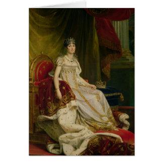 Empress Josephine  1808 Card