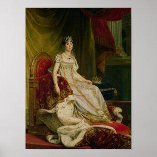 Empress Josephine  1808 Poster
