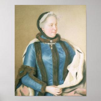 Empress Maria Theresa of Austria , c.1770 Poster
