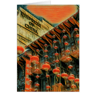 Empress of China Card