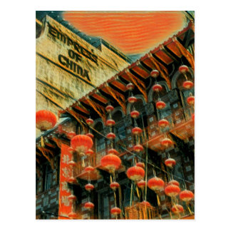 Empress of China Postcard