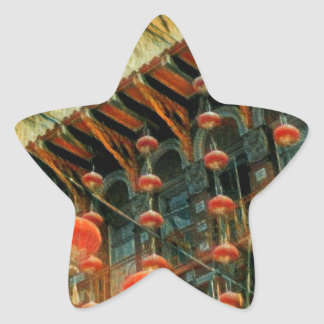 Empress of China Star Sticker