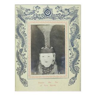 Empress She Tsu of the Yuan Dynasty Postcard