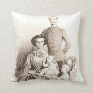 Empress Sisi and Family Pillow