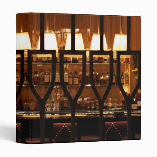 Empty Bar Room Vinyl Binders