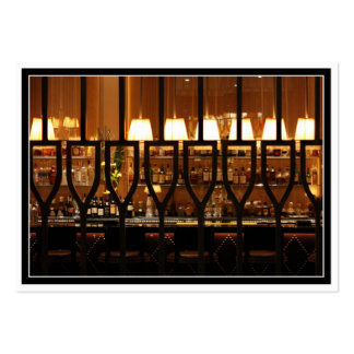 Empty Bar Room Large Business Cards (Pack Of 100)