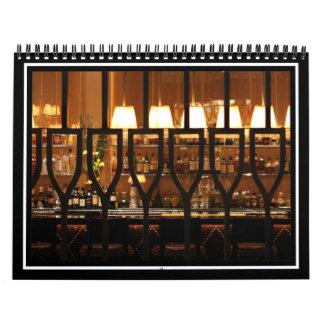 Empty Bar Room Wall Calendars