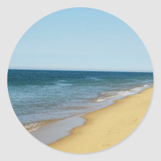 Empty Beach Stickers