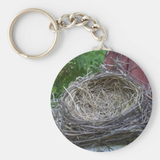 Empty Bird's Nest Keychain