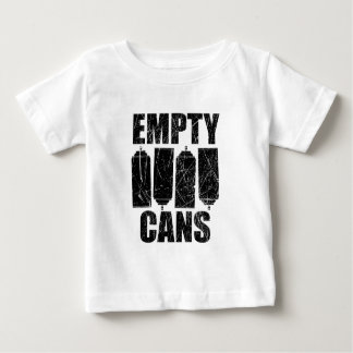 Empty Cans Baby T-Shirt