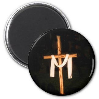 Empty Cross Magnet