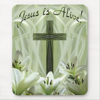 Empty Cross! Mouse Pad