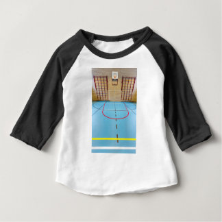 Empty european gymnasium for school sports baby T-Shirt