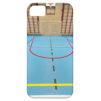 Empty european gymnasium for school sports iPhone 5 cover