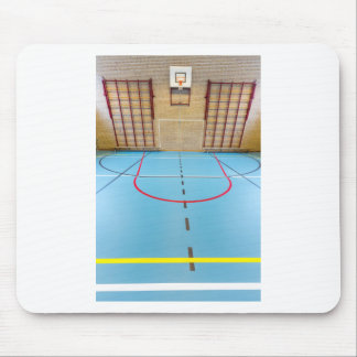 Empty european gymnasium for school sports mouse pad