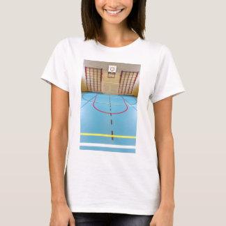Empty european gymnasium for school sports T-Shirt