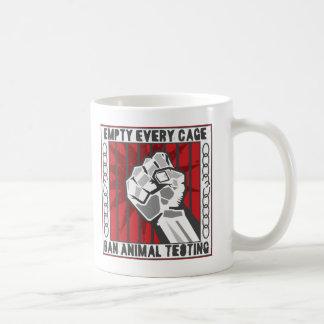 Empty Every Cage Coffee Mug