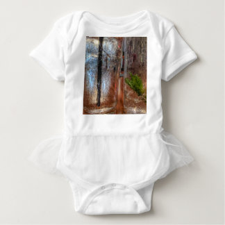 Empty Glasses Baby Bodysuit
