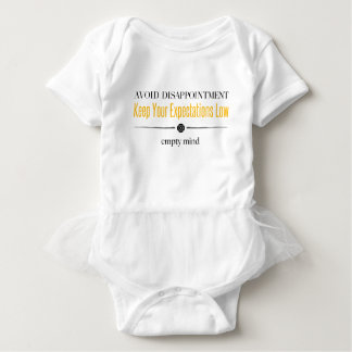 Empty Mind Baby Bodysuit