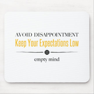 Empty Mind Mouse Pad