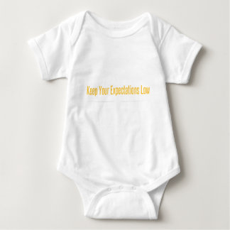 Empty Mind White Baby Bodysuit