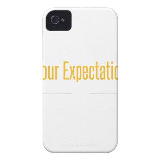 Empty Mind White iPhone 4 Case