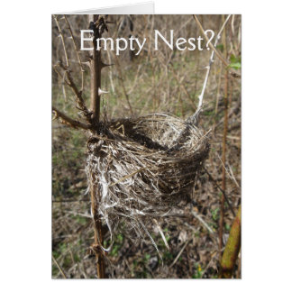 Empty Nest Celebration Card