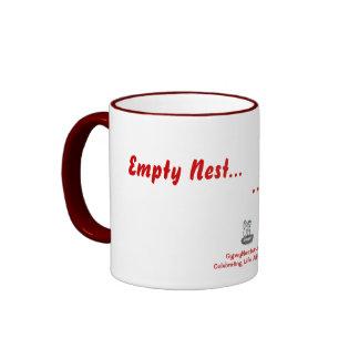Empty Nest... Full Wallet Ringer Mug