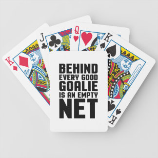 Empty Net Bicycle Playing Cards