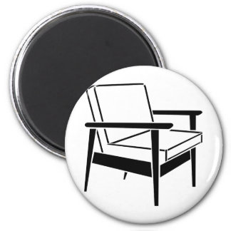 Empty Office Chair Magnet