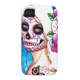 Empty Promises Day of the Dead Girl Vibe iPhone 4 Cases