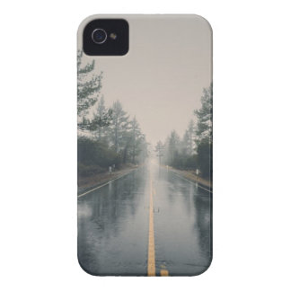 Empty Road Forest iPhone 4 Case-Mate Case